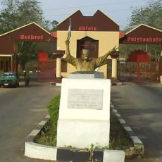 Main Entrance Moshood Abiola Polytechnic (MAPOLY)
