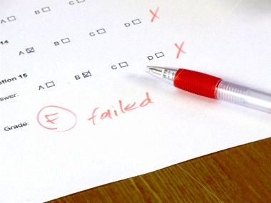 failed-exam