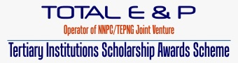 total E and P National Merit Scholarship Logo